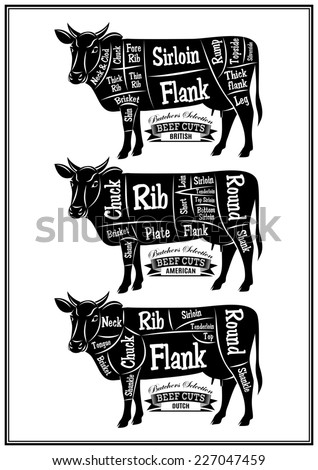 Cuts Of Meat Diagram likewise Stock Illustration Pork Or Pig Cuts American furthermore 10 besides Stock Photo Beef Cuts Animal Silhouette Cow Bull Vector Diagram For Butcher Shop 132036290 as well Stock Photo Black And White Cartoon Illustration Of Butcher In His Shop With Meat 124328225. on diagram of cuts steak