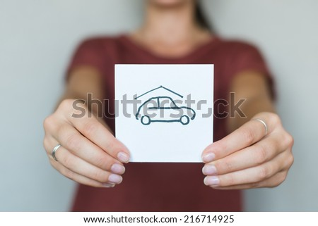 vector real estate car in garage icon | modern flat design black pictogram isolated on white background - stock photo