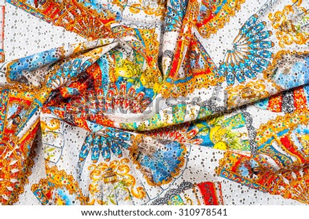 Veer. tissue. Cotton Lace. tissue, textile, cloth, fabric, material, texture  Photography Studio - stock photo