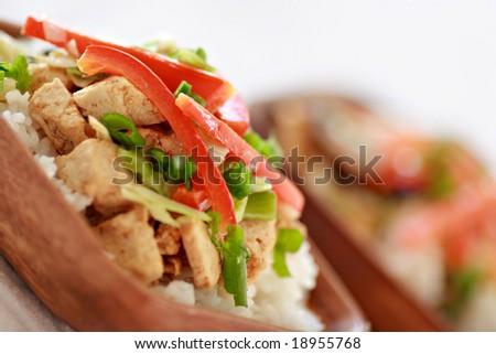 Vegan Stir-fry - stock photo