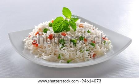 Vege Rice im-4 - stock photo