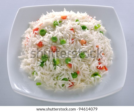 Vege Rice im-12 - stock photo