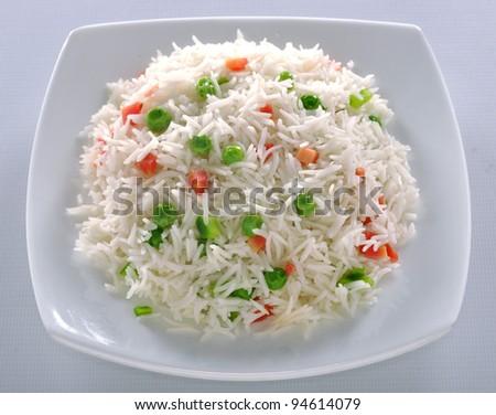 Vege Rice im-12 - stock photo