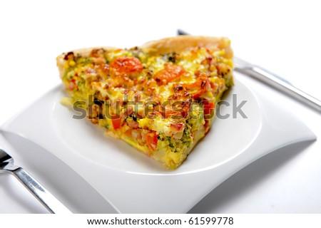 vegetable cake - stock photo