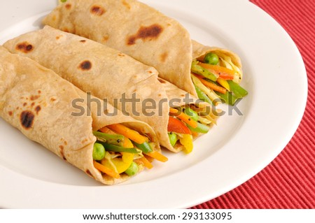 vegetable wraps