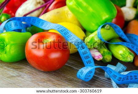 Vegetables and Measurements