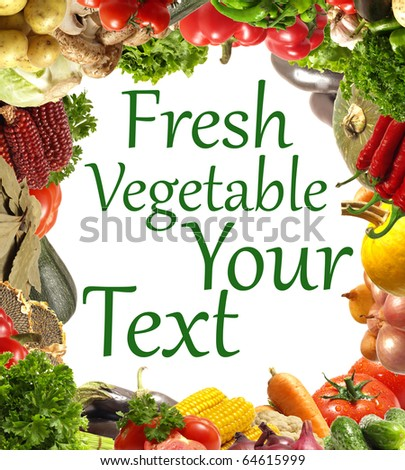 Vegetables for all tastes - stock photo