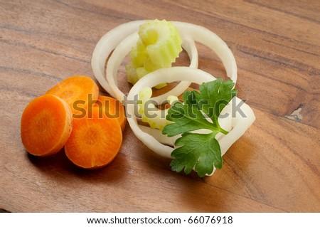 vegetables ingredients - stock photo