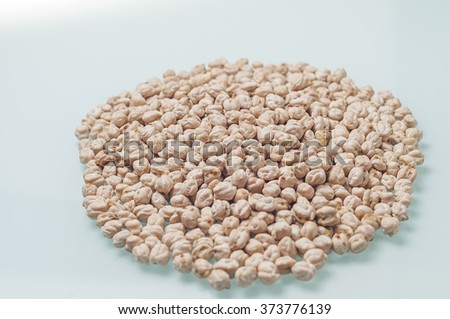 Vegetables isolated with white background