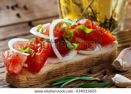Vegetarian Food Healthy Sandwich Tasty Lifestyle Concept - stock photo