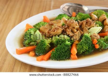 Vegetarian mix - stock photo
