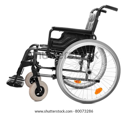 Vehicle Handicapped Persons Invalid Chair Stock Photo 80073286 ...