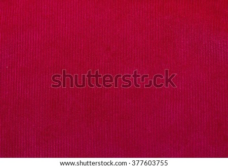velvet fabric texture, red, for backgrounds and textures - stock photo