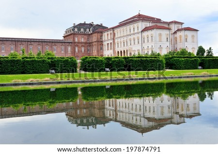 venaria real, turin, Italy (Unesco heritage)  - stock photo