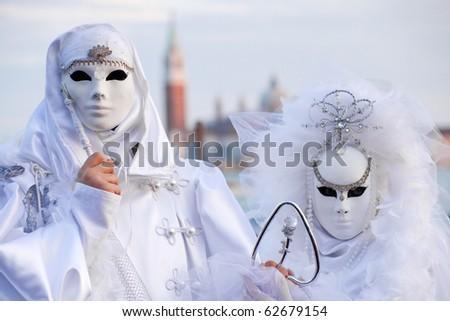 Venetian Carnival, Italy - stock photo