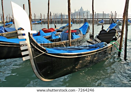 Venetian Gondola - stock photo