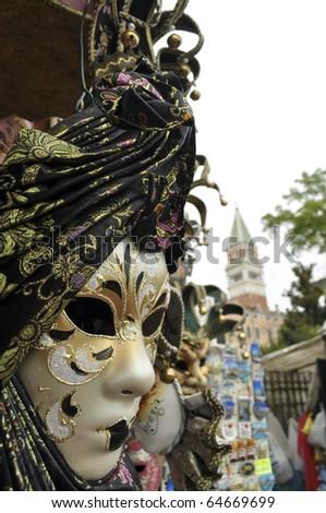 Venetian mask, Venice, Italy - stock photo