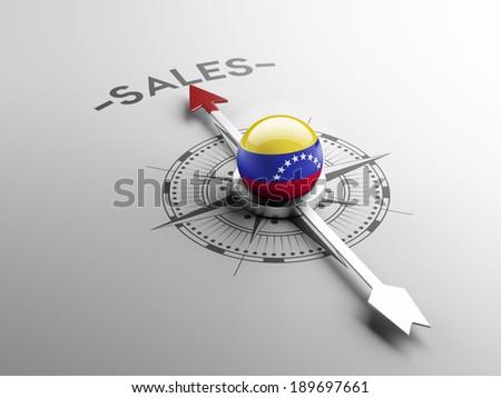 Venezuela High Resolution Sale Concept - stock photo