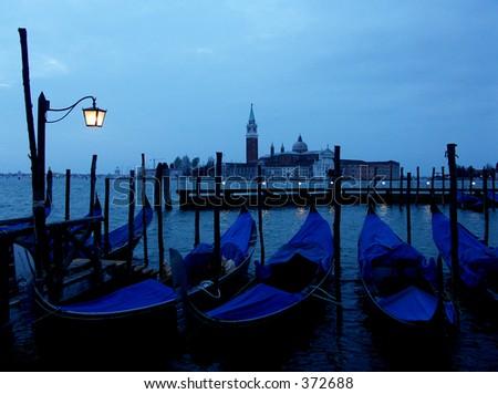 Venice at Dawn - stock photo