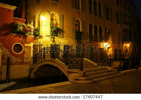 Venice at night (Italy)