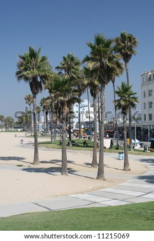 Venice Beach Boardwalk - stock photo