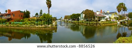 Venice beach canals, california