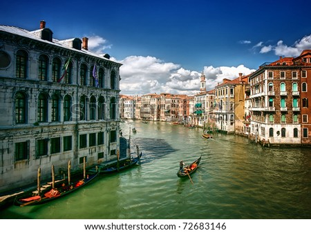 Venice Canals - stock photo