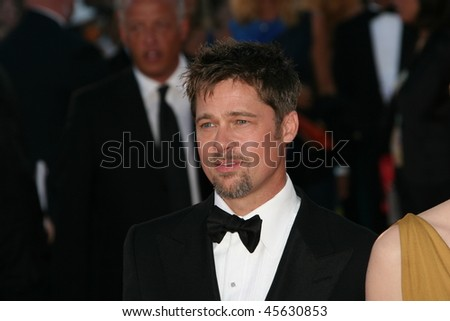 VENICE, ITALY - AUGUST 27: Brad Pitt attends the Opening Ceremony of the 65th Venice Film Festival and the 'Burn After Reading' premiere on August 27, 2008 in Venice, Italy