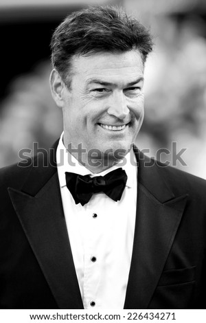VENICE, ITALY - AUGUST 27: Daniel McVicar attends the Opening Ceremony during the 71st Venice Film Festival on August 27, 2014 in Venice, Italy - stock photo
