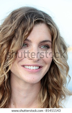 VENICE, ITALY - AUGUST 30: Vittoria Puccini during the photocall at the Excelsior beach during the 68th Venice Film Festival on August 30, 2011 in Venice, Italy.