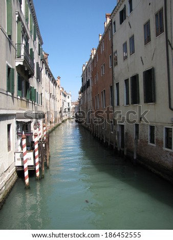venice italy canal historical place for people