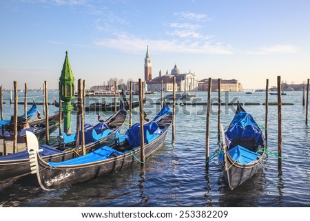 Venice (Italy) - 10 February 2015. In the City of Venice is the traditional Carnival historian, appreciated and known worldwide. A unique opportunity to visit the city declared unesco World Heritage - stock photo