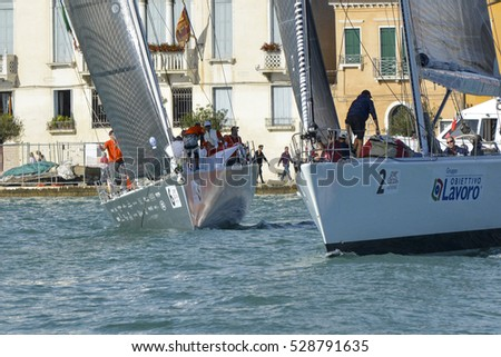 Venice - Italy - OCTOBER 17: Venice hospitality challenge on October 17, 2015, in Venice