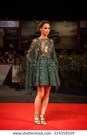 Venice, Italy - 06 September 2015: Berenice Bejo attends a premiere for 'El Clan' during the 72nd Venice Film Festival