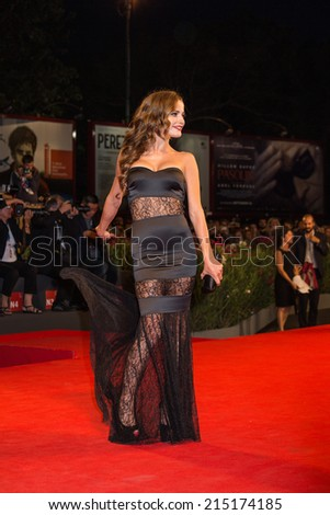 VENICE, ITALY - SEPTEMBER 04: Elettra Gorietti attends 'Pasolini' Premiere during the 71st Venice Film Festival on September 4, 2014 in Venice, Italy.