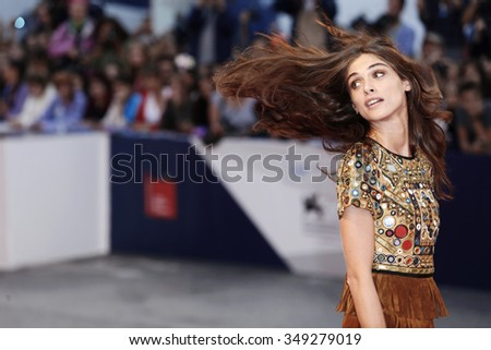 VENICE, ITALY - SEPTEMBER 5: Elisa Sednaoui attends the premiere of 'The Danish Girl' during the 72nd Venice Film Festival on September 5, 2015 in Venice, Italy.
