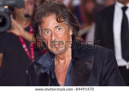 VENICE, ITALY - SEPTEMBER 04: Filmmaker/actor Al Pacino attend the 'Wild Salome' premiere during the 68th Venice Film Festival at Palazzo del Cinema on September 4, 2011 in Venice, Italy.