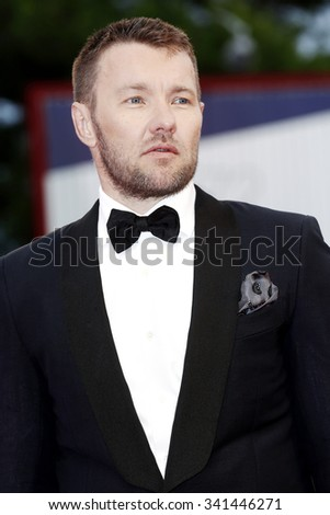 VENICE, ITALY - SEPTEMBER 4: Joel Edgerton attends the premiere of 'Black Mass' during the 72nd Venice Film Festival on September 6, 2015 in Venice, Italy.