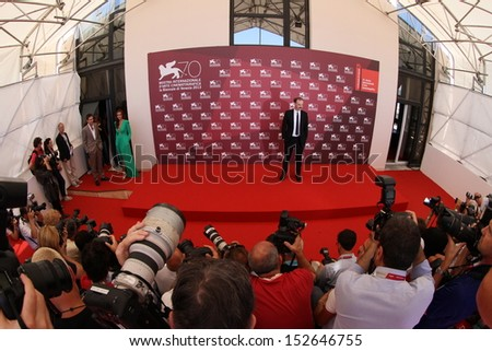 VENICE, ITALY - SEPTEMBER 02: Photographer attend the 'Medeas' Photocall during the 70th Venice Film Festival at the Palazzo del Casino on September 2, 2013 in Venice, Italy.