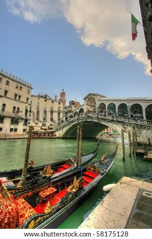 Venice landscape - stock photo