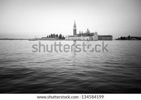 Venice: Saint George island - stock photo