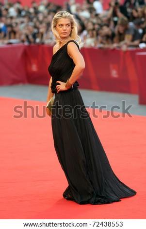 VENICE - SEPTEMBER 02: Director Angela Ismailosl during the 67th Venice Film Festival on September 2, 2010 in Venice, Italy. - stock photo