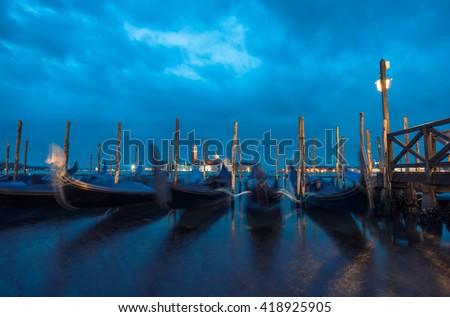 Venice Sunrise, Italy - stock photo