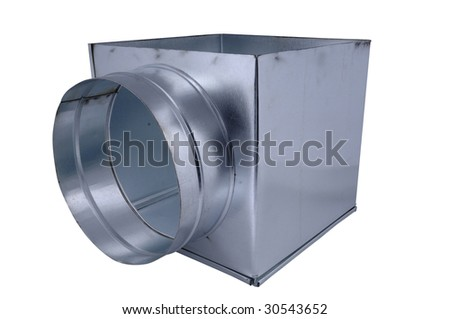 Ventilating detail - stock photo