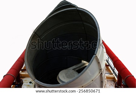 Ventilators of Sewage system. - stock photo