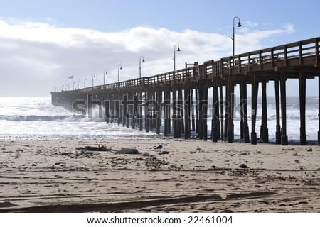 Ventura Pier - stock photo