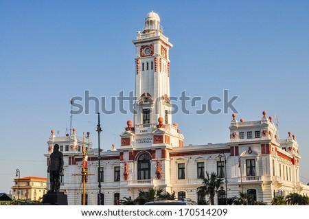 Venustiano Carranza Lighthouse - Veracruz, Mexico - stock photo