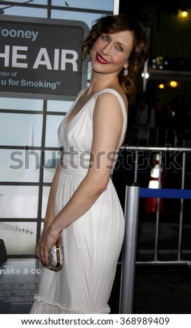 """Vera Farmiga at the Los Angeles Premiere of """"Up In The Air"""" held at the Man Village Theater in Westwood, USA on November 30, 2009. - stock photo"""