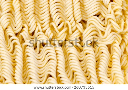 vermicelli pasta close up dry unprepared tasty nutritious - stock photo