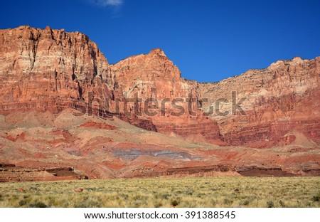 Vermillion cliffs, Arizona - stock photo